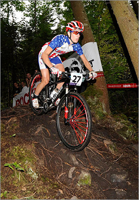 Lea Davison New England connection: Lives in Jericho, Vt. Team: Cycling (mountain bike) Age: 29 Notes: Davison, who was a discretionary selection, has finished in the top 10 at three world cup or world championship events in the last two years. She is ranked No. 20 in the UCI's women's elite standings.