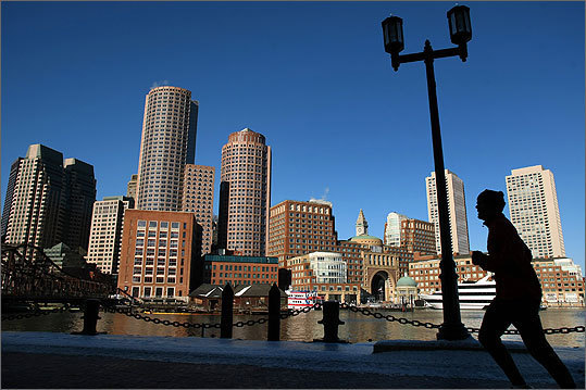 Boston AARP said what really set Boston apart from other big cities its culture, parks, and the quality of life in its suburbs. AARP also said Massachusetts is a great place to be retired from a government job or the military because most payments from public pensions are exempt from state taxes. Read more