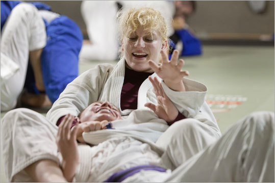 Kayla Harrison New England connection: Lives in Wakefield, Mass. Team: Judo Age: 21 Notes: Harrison qualified for the London games and won her second senior national title this year. She competes in the 78kg division. Her coach, Jimmy Pedro, who runs a training dojo in Wakefield where Harrison trains, is the US judo team coach. Harrison envisions golden moment at Olympics