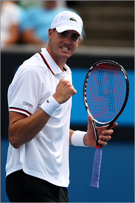 John Isner New England connection: Plays for Boston Lobsters Team: Tennis Age: 26 Notes: Isner was named to the US team after cracking the top 10 in the ATP rankings in March. Isner perhaps is best known for playing in the longest match in tennis history, which spanned 11 hours, 5 minutes over three days. Isner will pair with Andy Roddick in doubles.
