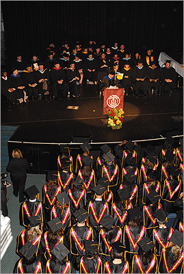 Bay State College held its commencement May 10 at Berklee Performance Center.