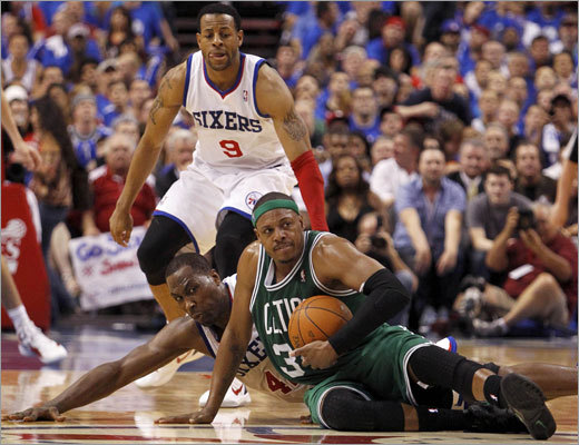 Paul Pierce scored 24 points and had 10 rebounds to lead the Celtics.