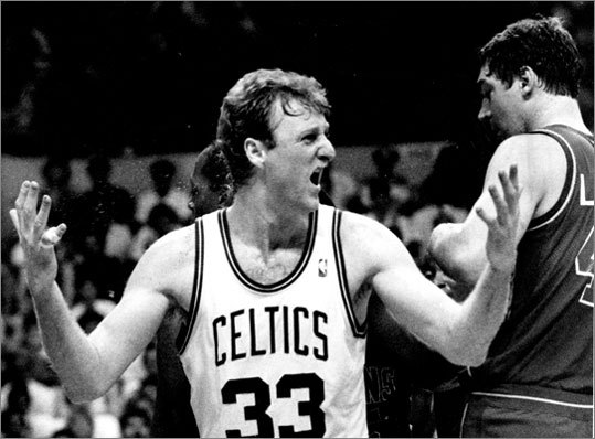 May 30, 1987: Celtics beat Pistons 117-114 in Boston Less than two weeks after closing out the Bucks in a Game 7, the Celtics did it again to the Pistons in the East finals. Globe columnist Bob Ryan described it at the time as one of the greatest NBA playoff games ever played. The Celtics outlasted Detroit by outscoring the Pistons 36-34 in the final period, when the temperature inside the Boston Garden was 88 degrees. Boston went on to lose to the Lakers in the NBA Finals in six games.