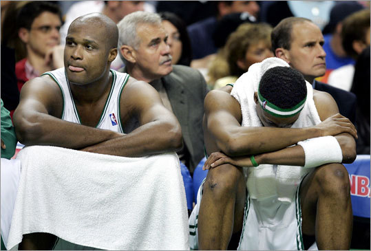 May 7, 2005: Pacers beat Celtics 97-70 in Boston Fans at the FleetCenter booed the Celtics before the fourth quarter started after the Pacers separated themselves with a 21-9 run to close the third quarter. The first-round loss marked the final playoff appearance for the Celtics until 2007.