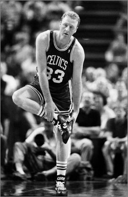 May 17, 1992: Cavaliers beat Celtics 122-104 at Cleveland In what turned out to be the final game of Larry Bird's career, the Celtics were blown out to close this second-round series. The Celtics never led in the contest and trailed by 10 or more for the final 41 minutes of the game. Bird would retire after the season.