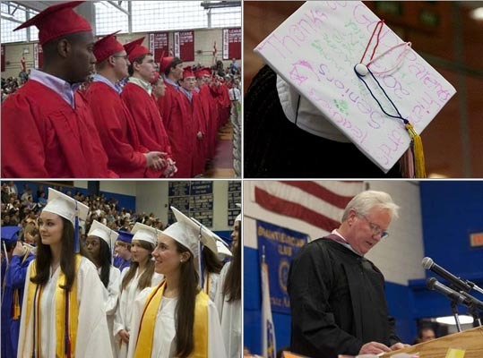 High schools across the region are holding their graduation ceremonies. Take a look at photos from some of the recent local commencements.