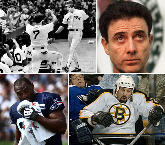 While Boston sports teams have produced legendary stars and showcased many surprise performers through the years, many players that have passed through town did not live up to their projections... or price tag. We've seen big name players that didn't come up big on game day, highly-touted draft picks that never panned out, and a long list of performers that delivered elsewhere, but faded here. We take a look back at some of the biggest busts for the Red Sox, Patriots, Bruins, and Celtics, and let you rank the top under-performers at the end.