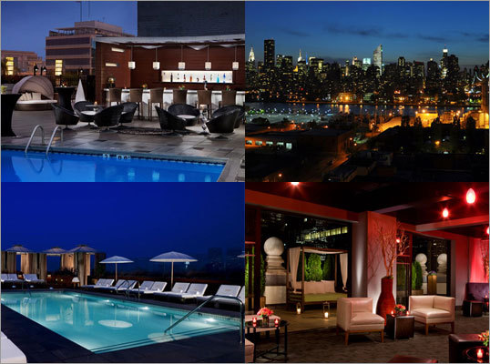 Where are the best hotel rooftop bars in the United States? From New York to California, here are some of the hottest places to hang out up top, enjoy some crafty cocktails, and take in the views that will rival anything you'll see from the sidewalk.