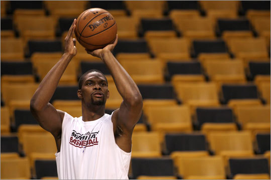 Heat forward Chris Bosh was expected to play more than the 14 minutes he got in Game 5. Game 6 was Bosh's second game since returning from an abdominal injury.