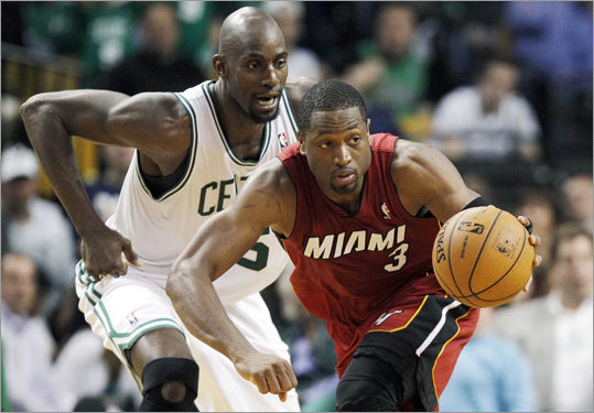 Miami's Dwyane Wade added 17 points, 8 rebounds and 4 assists to supplement James's scoring output.