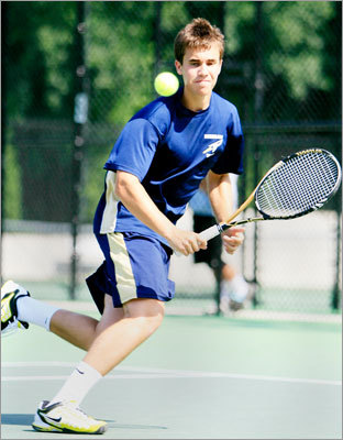 Div. 1 boys tennis Needham's boys tennis team won the Division 1 state championship with a 3-2 win over St. John's of Shrewsbury. Story: Perfect end for Needham