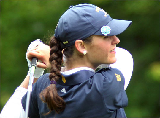 2. Girls golf a case of mix and matches As always the MIAA girls' individual golf championships is a strange mix of seasons. There are the girls who play on spring teams, along with girls who play on boys' teams in the fall. The result is Page 4 of this section. For some girls, like Notre Dame of Hingham's Lauren Flynn, Aimee DuBuois, and Emily Lafond, All-Scholastics is the reward for an almost three-month season. For others, like individual champion Isabel Southard of Sharon, it's a reward for one round of golf. But that's not entirely accurate. Southard was the Hockomock League MVP in the fall and earned that honor competing against some of the best boys in the state.