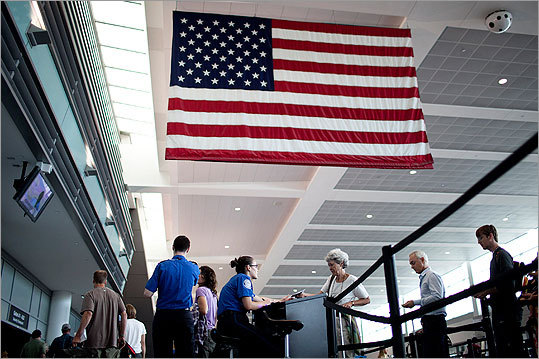 In the wake of 9/11, Logan airport has been constantly changing its security policies and procedures. Here is a the airport's security history, from the first state police patrol to the newest terrorism detection gadgets.