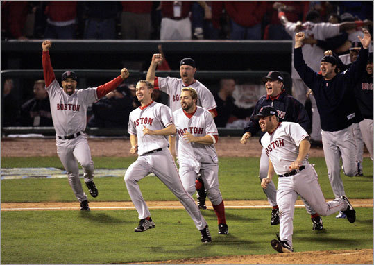The Red Sox will pay tribute to the 2004 World Series champions on Tuesday, Sept. 25 before the game against the Tampa Bay Rays. Fifty players contributed to the 2004 team throughout the season, 40 of whom are retired or out of baseball, two are free agents, two are on minor league rosters, one is playing in Korea, and five are still active major leaguers. Only one of those five, David Ortiz, is playing in Boston. Find out where some of the notable players of the '04 Red Sox are now in this gallery.