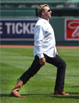 Kevin Millar Millar joined the Red Sox organization in 2003 and had a career year. He had another great season in 2004, hitting .297 with a .383 on-base percentage, 18 homers and 74 RBIs. Millar started the 'Cowboy Up' phrase and proclaimed the '04 Sox 'idiots.' It worked, and the fans loved him. Millar serves as an analyst for MLB Network and NESN.