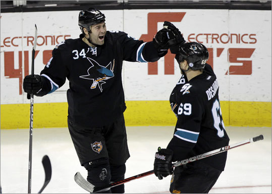 Daniel Winnik, LW Height/weight: 6-2, 210 2011-12 statistics: 8 goals, 15 assists The Sharks, who acquired Winnik from the Avalanche at the trade deadline last season, were not expected to offer Winnik a new deal before free agency opens, according to the San Jose Mercury News. He made $1 million last season.