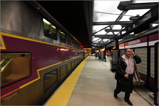 Commuter trains on the Greenbush and Kingston/Plymouth lines <a href=' http://www.boston.com/yourtown/scituate/articles/2012/07/01/no_more_weekend_service_on_greenbush_and_kingstonplymouth_commuter_rail_lines/'>will stop running on Saturdays and Sundays. Fare increases and service cutbacks are necessary, say T officials, to close a projected budget deficit of up to $185 million in fiscal year 2013, said officials.