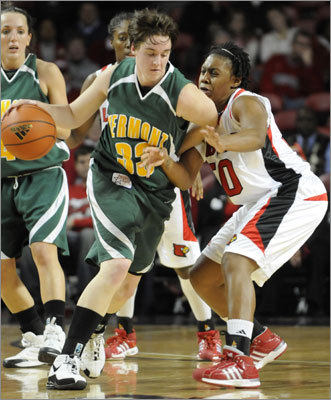 Courtnay Pilypaitis New England connection: Attended University of Vermont Team: Women's basketball (Canada) Age: 24 Notes: Pilypaitis helped lead Team Canada to qualify for its first women's basketball appearance in the Olympics in 12 years. She graduated from UVM with team records in minutes played, three-point baskets, assists and games played.