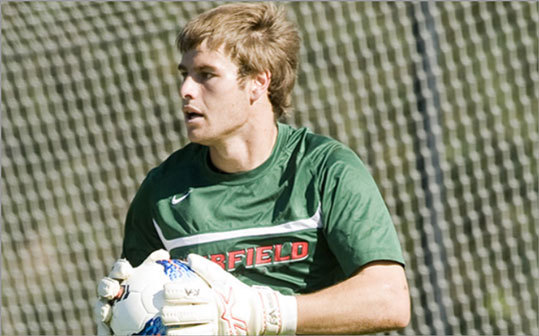 Michael O'Keeffe New England connection: Attends Fairfield Universtiy Team: Soccer (New Zealand) Age: 21 Notes: Fairfield University goalkeeper O'Keeffe will represent New Zealand in London. He was one of two goalkeepers and 18 players selected for the team