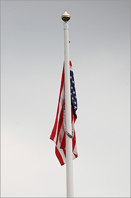 Flags A Wrentham Housing Authority told residents that the public display of the American Flag was not permitted in common areas. The ban has since been reversed. Reasoning: A letter explaining the ban said a tenant had complained repeatedly to the Department of Housing and Community Development, and had therefore resulted in the ban.