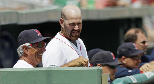 2012 After their highly-publicized exchange of words in April, Youkilis and Bobby Valentine's war of words rekindled just before his first return to Fenway Park, but not nearly to the same degree. When asked if any 'friction' existed in their relationship, Valentine responded, 'I think that's a joke. .... I think the comment that I made early, he made a big issue out of and I don't think he ever wanted to get over it.' Youkilis wouldn't respond to Valentine's comments, saying, 'I got nothing about any of that stuff. I'm over all the Boston thing this year. There's a great past history but this year I'm focused on the White Sox.'