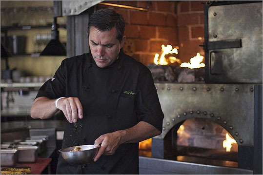 Celebrity chef Todd English has reopened Olives, the Charlestown restaurant that put him on the culinary map. It was closed for two years following a grease fire and has now been renovated. Take a look at the restaurant, some dishes, and a glimpse at the kitchen.