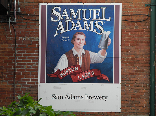 Sam Adams on Thursday unveiled its latest creation, a limited-edition beer dubbed Brewlywed Ale. Jim Koch, the founder and chairman of brewery parent Boston Beer Co., said the name pays homage to the medieval tradition of having women brew beer for their wedding feasts. Only 400 cases of Brewlywed Ale were brewed and it was only available for sale Thursday at Boston Beer's Jamaica Plain brewery, the company said. In addition, the company invited couples to get married in the brewery's beer garden.