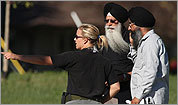 Scenes from the Sikh temple shooting