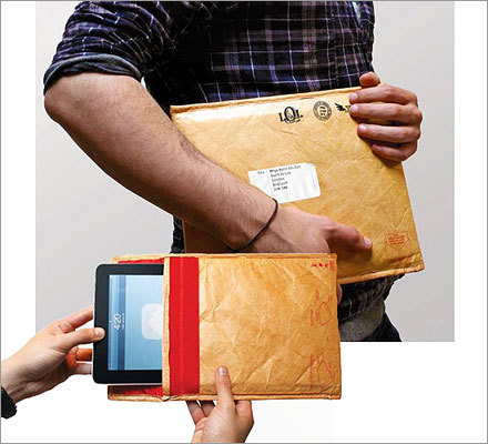 Undercover tablet sleeve Price: $19.99 Help your tablet-using school friend be a little discreet with this disguise sleeve.