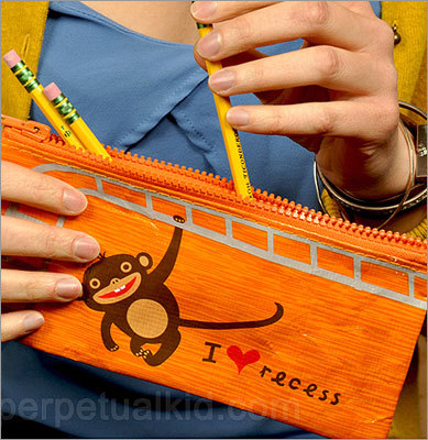 'I heart recess' pouch Price: $4.99 Let your friends hold their pencils and other small items in the cutest pouch of all time.