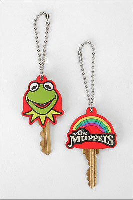 Muppets key cap Price: $8 Does your friend need to keep dorm keys separate from home keys or lockers keys separate from car keys? These cute covers can do the trick.
