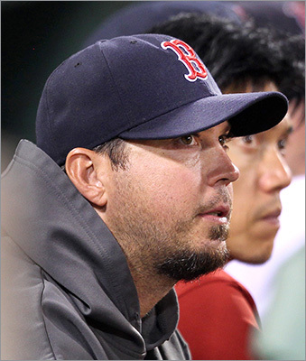 Pitcher: Josh Beckett Beckett became the face of the clubhouse chaos after 2011's September collapse, as he was tied to the reports of chicken and beer in the clubhouse. In 2012 he became even more of a target for fans due to his underperforming. He was 5-11 with a 5.23 ERA with the Red Sox in 2012.