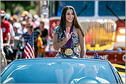 Parade and celebration for Aly Raisman