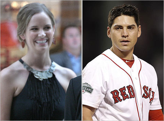 Kelsey Ellsbury Sox center fielder Jacoby Ellsbury married Kelsey Hawkins in 2012. The two met at Oregon State during their freshmen year of college, and according to one Oregon paper, reunited when Ellsbury was playing in the minors and Hawkins was nannying on the East Coast.