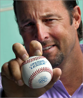 Former Red Sox pitcher Tim Wakefield is one of two knuckleball specialists featured in a new documentary -- Knuckleball! -- that is being released in September of 2012 (R.A. Dickey is the other). It's the latest note of distinction for Wakefield. Scroll through this gallery to take a look at his long career in baseball.