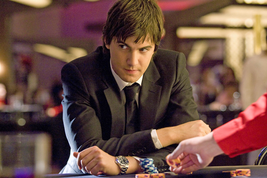21, 2008 Jim Sturgess plays Ben Campbell, a member of the MIT Blackjack Team that counted cards in this movie based on real people and events. MIT did not allow filming on campus, so filmmakers used Boston University for MIT scenes. They also filmed at Harvard Medical School, People's Republik, a bar in Cambridge, and the Christian Science Center.