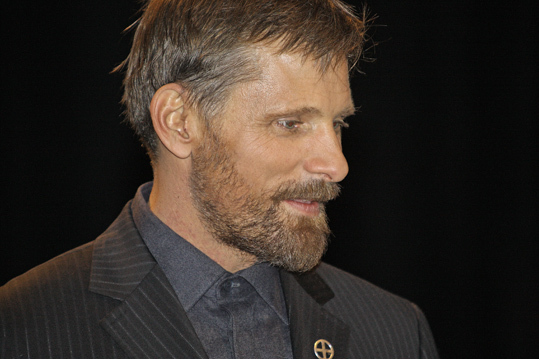 The People Speak, 2009 Actors like Viggo Mortenson (pictured), Matt Damon, Morgan Freeman, and Marisa Tomei starred in this documentary feature film that gives voice to people throughout American history who spoke up for social change. The movie was shot in front of a live audience at Emerson College's Cutler Majestic Theatre.