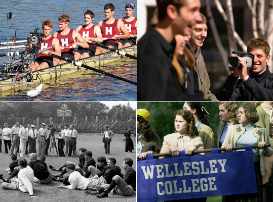 Boston's rich array of colleges and universities often play a role in major Hollywood films. Here is a collection of notable films that feature local schools, either as settings or subjects.