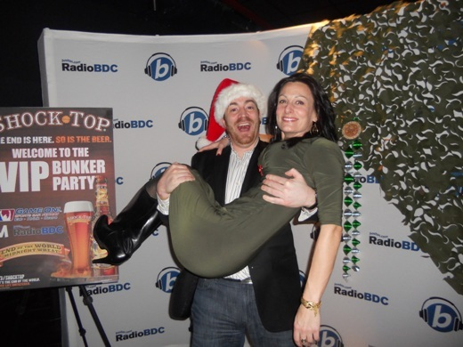 RadioBDC listeners are overwhelmed with holiday spirit and Shock Top.