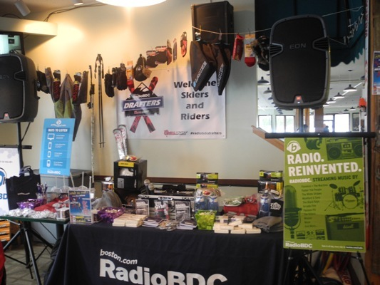 Prizes for all! We like to hook RadioBDC listeners up with skis, snowboards, snow gear and other goodies.