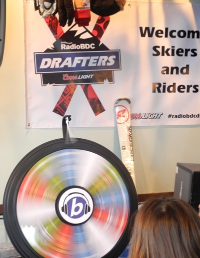Take a spin on the RadioBDC Prize Wheel.