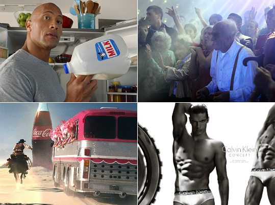 The 49ers and the Ravens duked it out for Super Bowl supremacy, but the competition for your attention didn't end there. Super Bowl advertisements traditionally give nonsports fans a reason to watch the game. From supermodels to crazed grandpas to the Abominable Snowman, here's a look at some of the best ads from Super Bowl XLVII