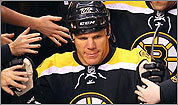Shawn Thornton Of Bruins Playing Limited Role