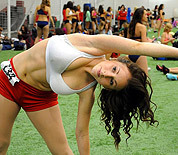 Patriots cheerleader tryouts