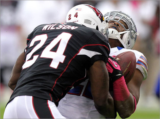Adrian Wilson, SS A 5-time Pro Bowl safety with Arizona, Wilson was cut by the Cardinals before the league year ended to save $2.5 million in salary and another $1 million roster bonus. The 12-year veteran saw a diminished role in 2012, coming of the field in nickel situations. But he was still productive in 15 games and 14 starts, accumulating 54 tackles, three sacks, five passes defensed, a fumble forced, and an interception. Wilson will be 34 in October, but he could still be worthy upgrade for the Patriots at safety.