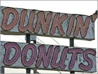 Top Mass. Dunkin towns