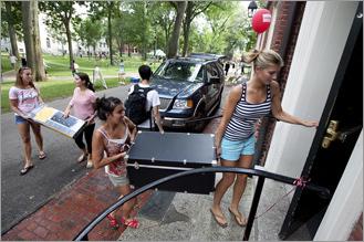 Boston Move-In Week 2013