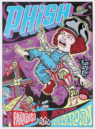 A e music phish phish concert posters for House music 1997