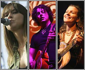 Cat Power, Jack White and Antje Duvekot