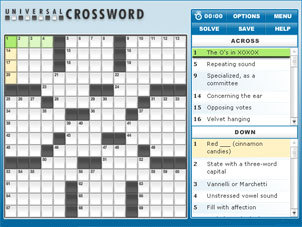 Click to try our crossword puzzle